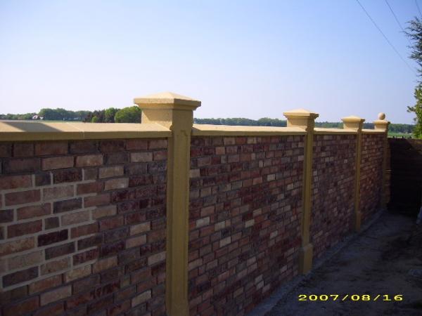 Mauerabdeckung für 24cm Mauerwerk
