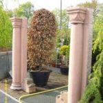 ca. 150 Jahre altes Säulenpärchen aus dem Odenwald.