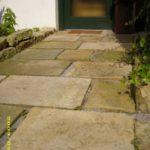 antike Sandsteinplatten