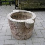 Mörser  aus Untersberger Marmor