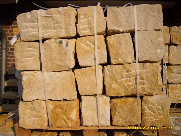 Sandsteinbblock 20cm x 20cm x 40cm