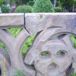 Sandsteinbalustrade aus dem Aachener Dom