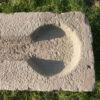 langer Nasentrog aus Sandstein