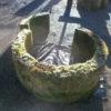 antiker Sandsteinbrunnenring vierteilig