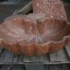 Weihwasserbecken aus Untersberger Marmor