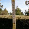 Ringbrunnen mit Säule