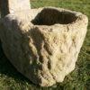 Ausgefallener Sandsteinbrunnen