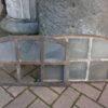 historische Fenster aus Gusseisen