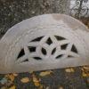 Lüftungsteine/Ornamentsteine aus Sandstein