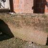 Sandsteinbrunnen aus historischen Materialien