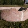 Schöner Futtertrog aus Sandstein
