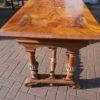 Nußbaumtisch zum selberrestaurieren