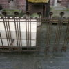 Zaunelement aus Schmiedeeisen, 20er Jahre