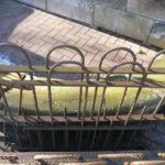 6,85m antiker Zaun zum Sonderpreis