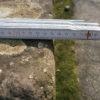 Pflanztisch mit Platte aus Naturstein