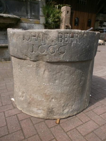 Brunnenring von 1666