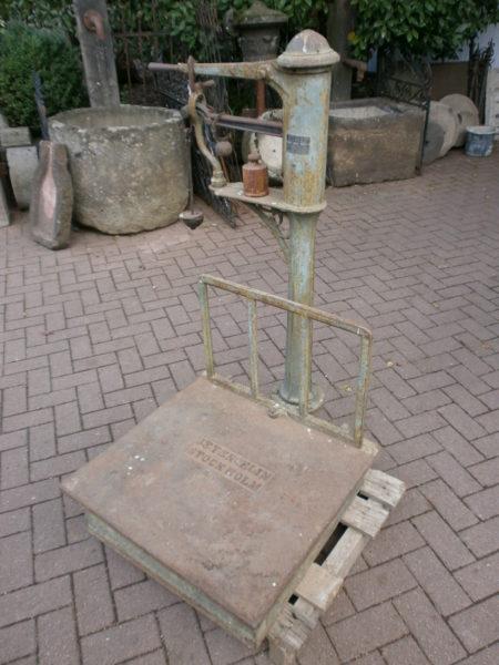 antike Waage aus Schweden