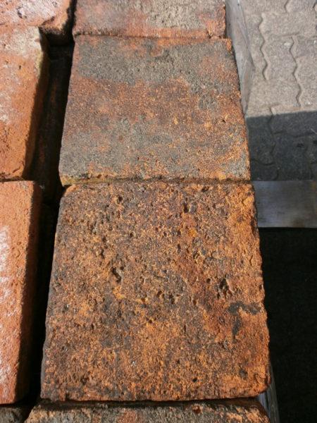 78qm rote Terracottaplatten, 3cm stark