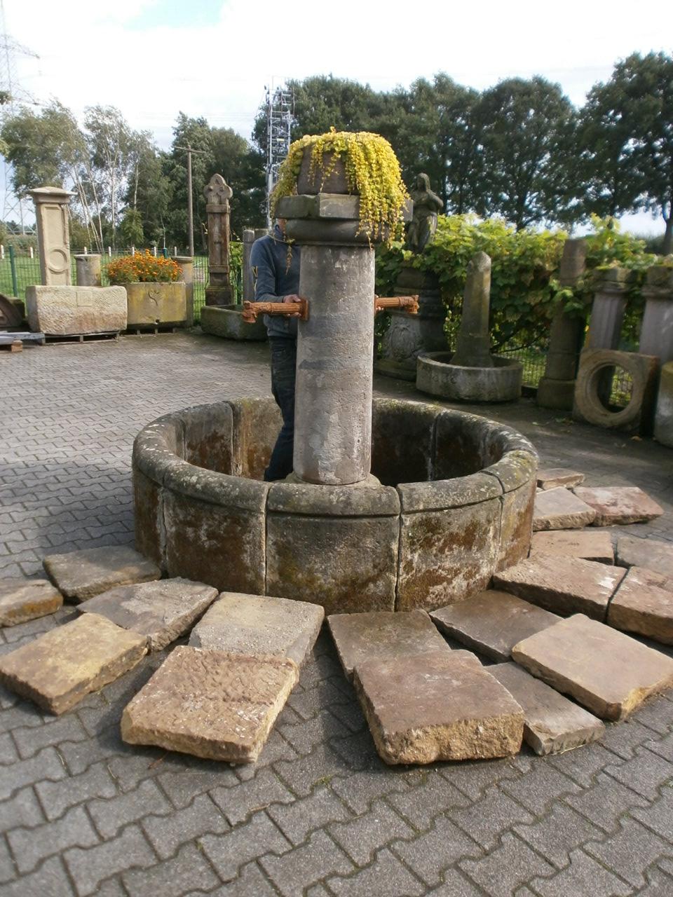 Brunnenring aus 12 Teilen