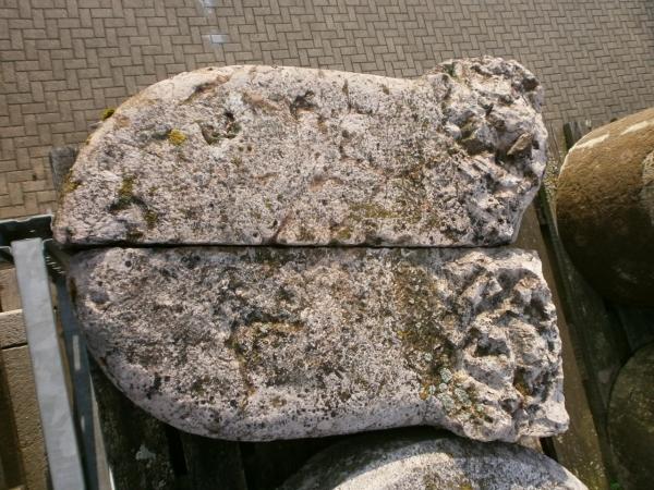 Radabweiser aus Marmor