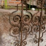 Pflanzstäbe / Treppenstäbe antik