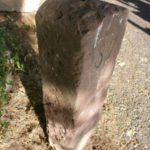 antiker Kilometerstein