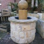 Schöner Brunnen aus Ibbenbürener Sandstein/Naturstein