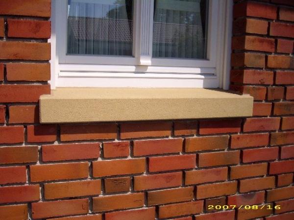Fensterbank 10 auf 12cm, 22cm tief, per Meter