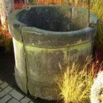 Brunnenring aus Sandstein 4tlg.