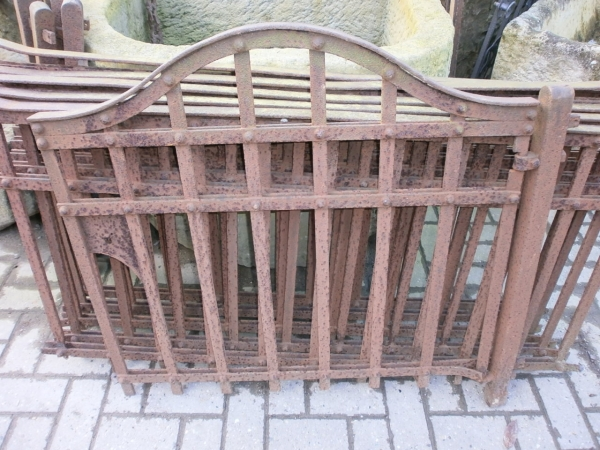 Zaun mit Törchen, ca. 7,8m