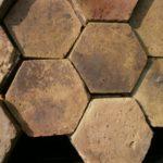 sechseck Terracotta historsch