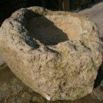 Kalkstein Futtertrog