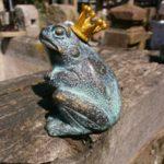 Wasserspeiender Frosch