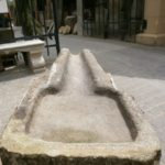 Nasentrog aus Granit, tolle Größe