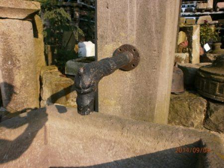 Antiker Sandsteinbrunnen
