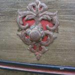 Barocke Holztür