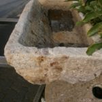 Futtertrog aus Sandstein