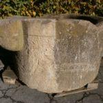 """Brunnenring mit """"OHR"""" aus dem Elsass"""