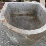 Granitgrander halbrund