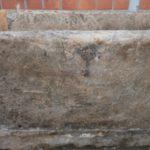 Wunderschöne alte Tränke aus Sandstein