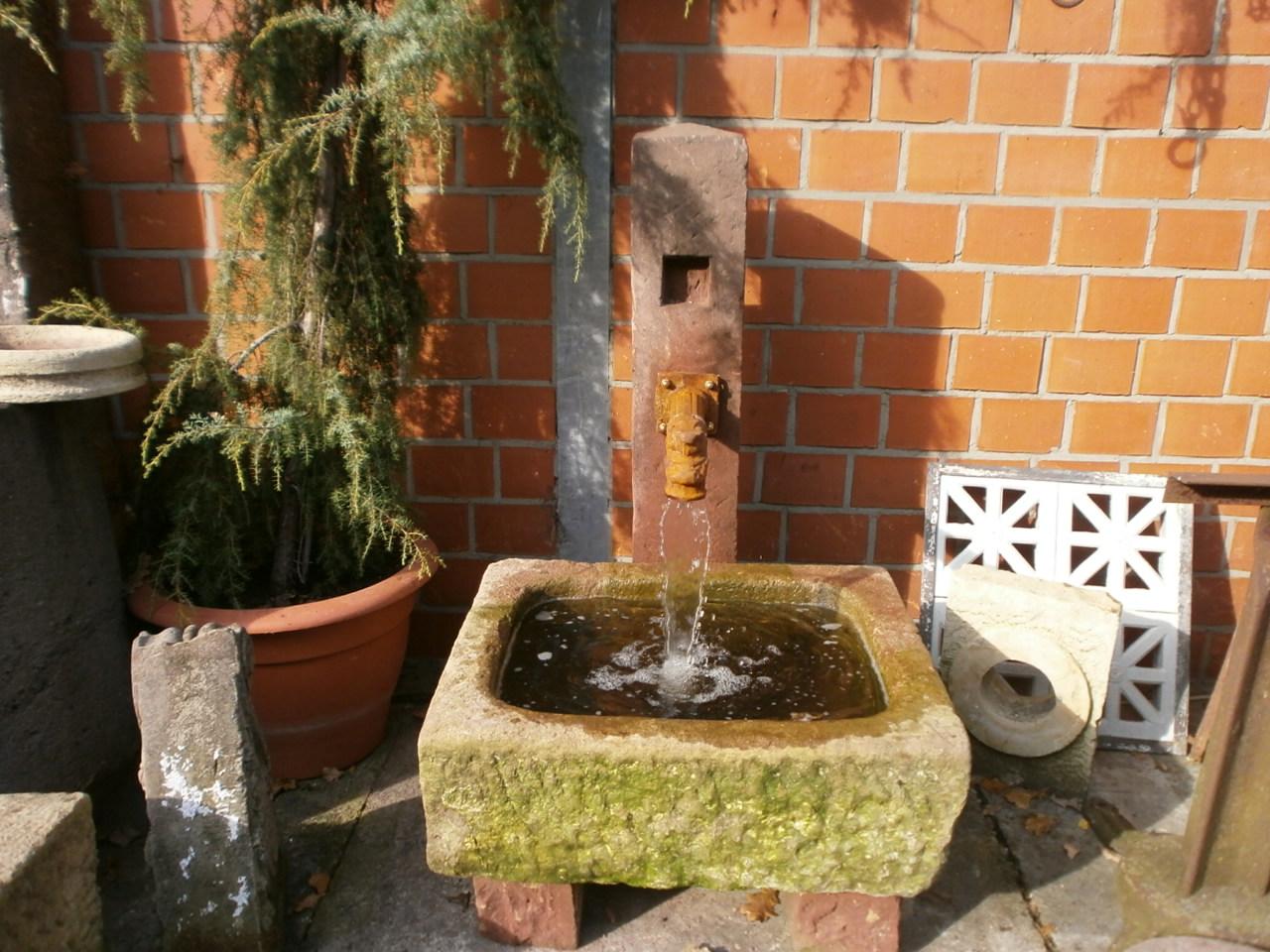 Brunnen aus Buntsantstein