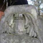 antiker Grabstein aus Sandstein