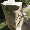 Brunnen aus historischem Sandstein