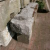 Sandsteinbank aus Naturstein