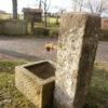 Kleiner Brunnen mit quadratischem Trog