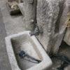 Sehr schöner kleiner Brunnen mit toller Patina