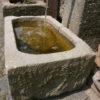 Kleiner Brunnen mit Jugendstil Säule