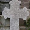 Großes Kreuz aus Sandstein