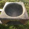 Pferdetrog aus Keramik