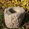 Vase aus Sandstein
